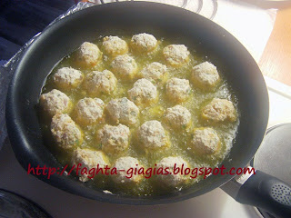 Τα φαγητά της γιαγιάς - Ρεβυθοκεφτέδες με σος από ταχίνι και γιαούρτι