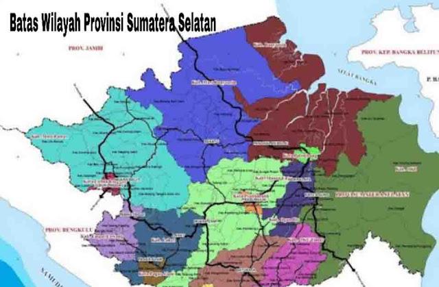 Batas Wilayah Sumatera Selatan