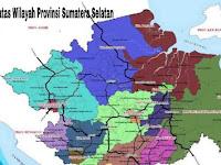 4+ Batas Wilayah Provinsi Sumatera Selatan