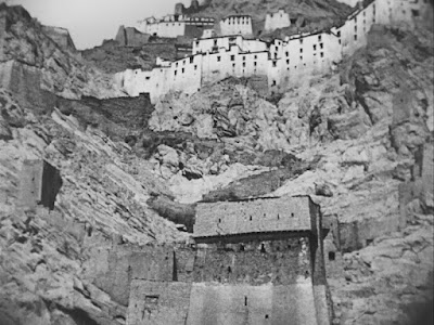 A Cliffside Monastery