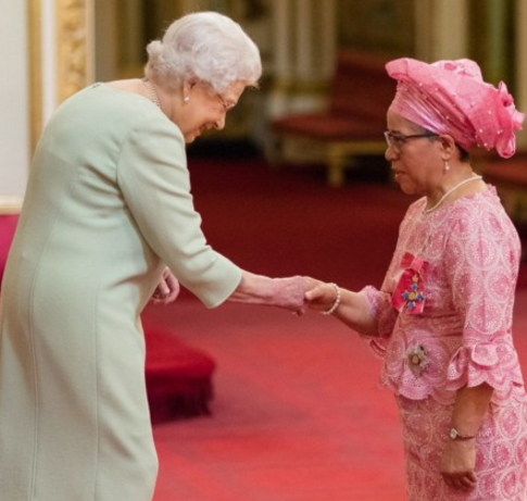 nigerian professor honoured british queen