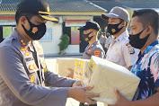 Polresta Mataram Salurkan Bantuan Beras untuk Masyarakat dan Anggota