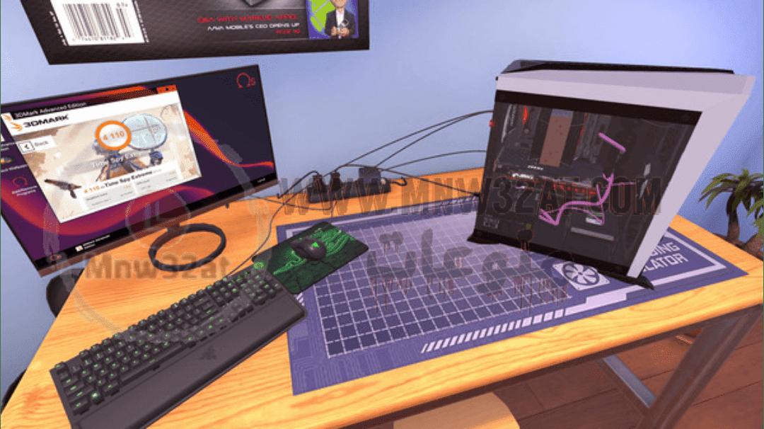 تحميل لعبة pc building simulator مجانا للكمبيوتر