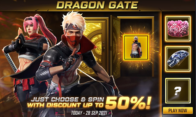 Bocoran Bundle Dragon Gate Free Fire  Chrome Swordmaven Metallic Swordmaster