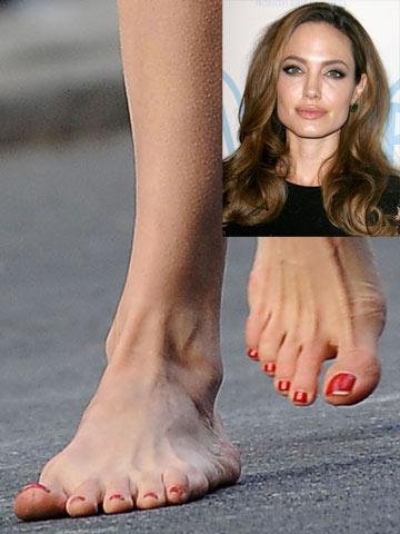 Angelina Jolie Sexy Feet 52