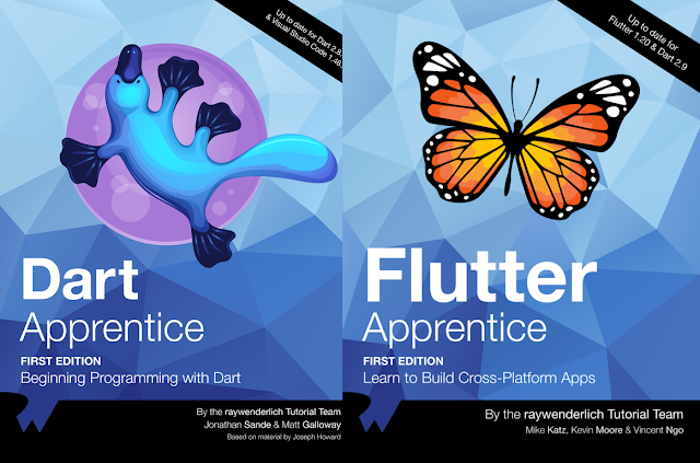 Flutter Bundle By Ray Wenderlich Latest version and Full Source Code