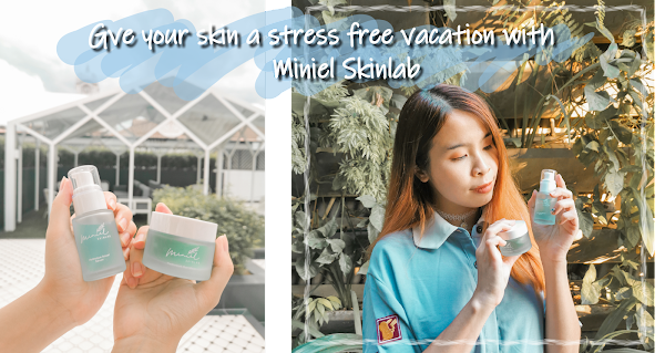 Gotta give your skin a stress free vacation with Miniel Skinlab!!