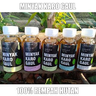 Minyak Karo Gaul