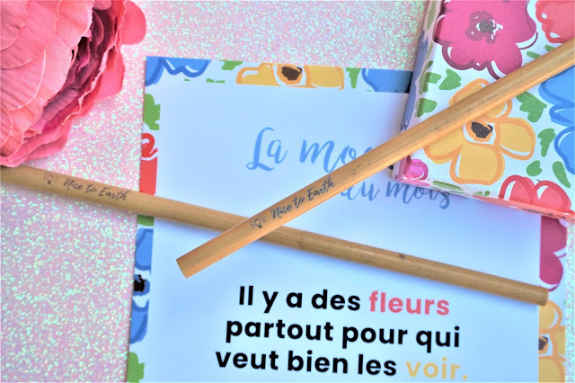 My Sweetie Box juin Flower Power pailles