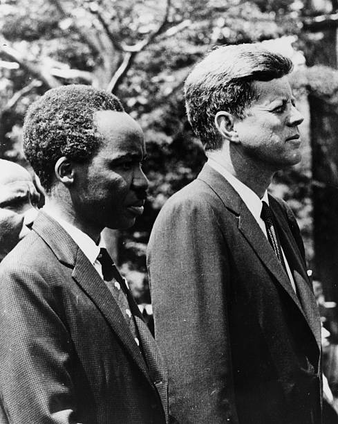 John F Kennedy: When the US president linked up with Africa's freedom heroes