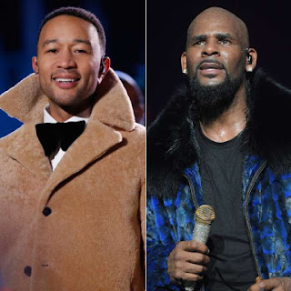 John Legend and R kelly