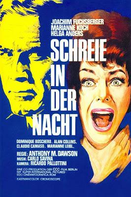 The Unnaturals, Schreie in der Nacht, Poster, Joachim Fuchsberger, Marianne Koch