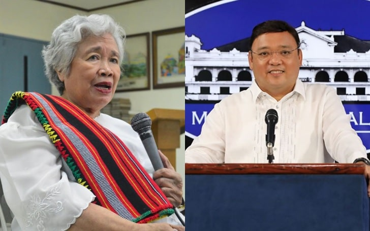 DepEd Leonor Briones and Harry Roque