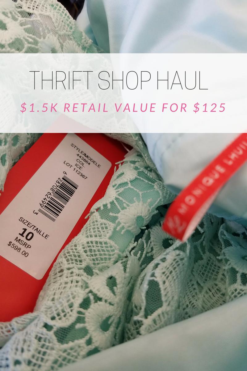 november thrift haul