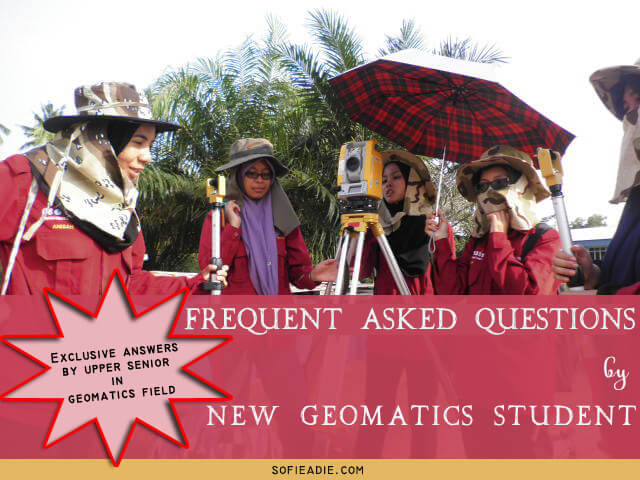 FAQs, Geomatics