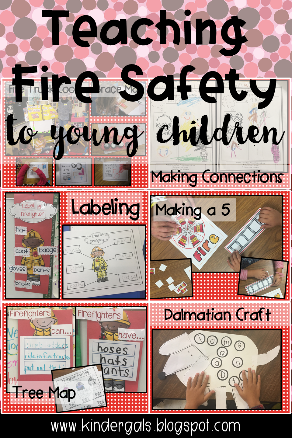 What kind of craft do with the child on the topic of Fire Safety