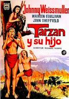 Tarzan con Jhonny Weissmuller