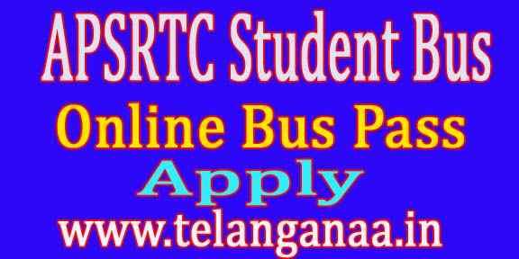 APSRTC Student Bus Pass Online apsrtcpass.in