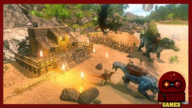 تحميل لعبة ارك سرفايفل Survival Evolved APK للاندرويد من الميديا فاير