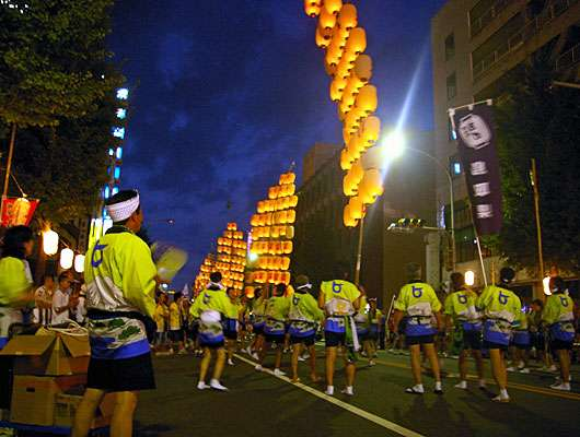 Yonago Gaina Matsuri (summer festival), Tottori Pref.