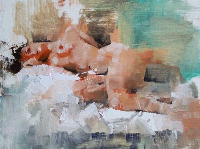Масляные картины. Mark Lague