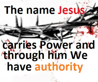 Jesus Christ gave us authority over the enemy;