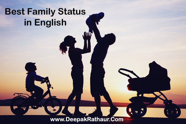 Best Family Quotes For Facebook & WhatsApp - 2020