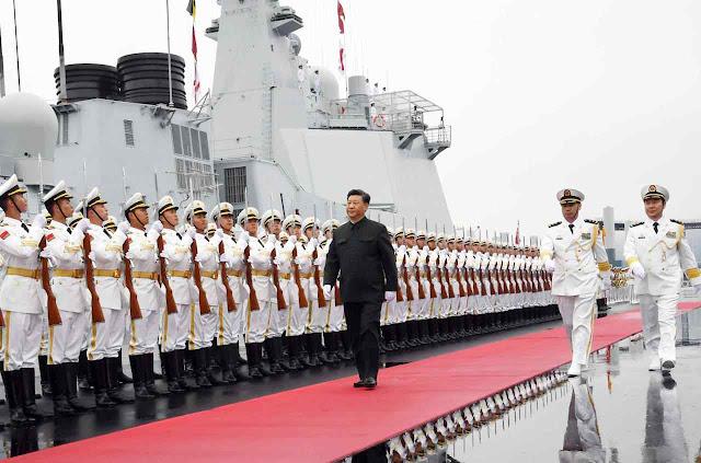 Xi Jinping alardeia possuir a maior marinha de guerra do mundo
