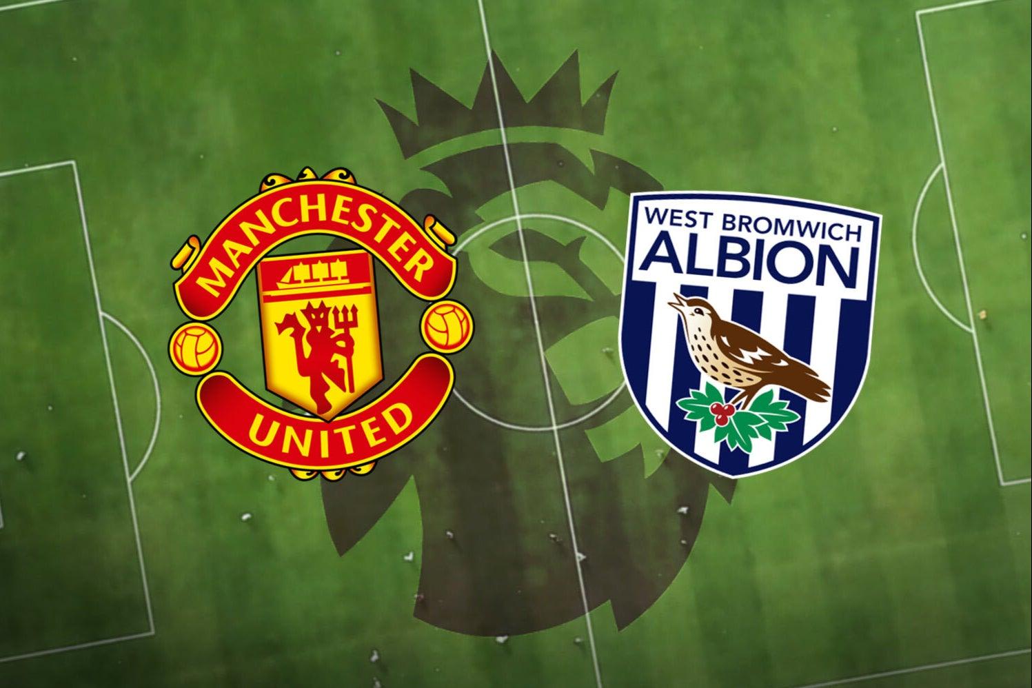 بث مباشر مباراة مانشستر يونايتد ووست بروميتش