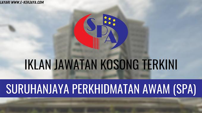 Kekosongan Jawatan Suruhanjaya Perkhidmatan Awam Malaysia (SPA) ~ Kekosongan Seluruh Negara !!