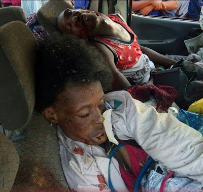 Very Graphic Pics Fatal Accident In Delta State Leaves