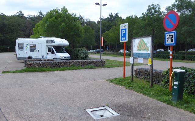 Àrea d'autocaravanes de Genk Kattevennen