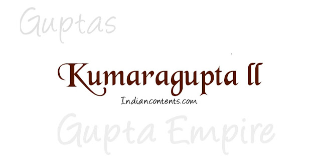 Kumaragupta II - Fifth Successor King After Samudragupta