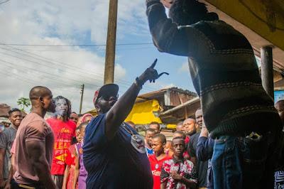 Paulcy Nnamdi Iwuala, Bugzy Dvinci, Arbenco Aigbe and others, debut in Onyeka Nwelue?s Igbo Language film, ?Agwaetiti Obi?t??: Watch ?Behind the Scenes? video and pictures