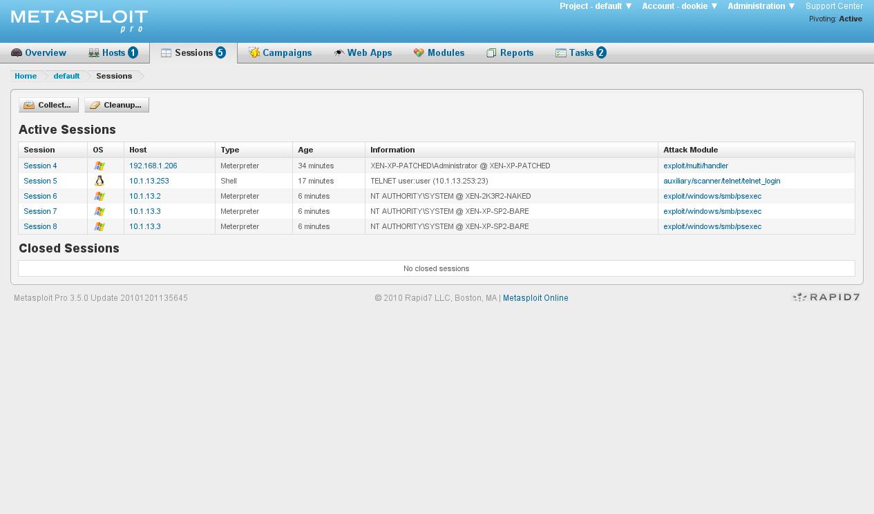 Apps For Download: DOWNLOAD Rapid7 Metasploit PRO v4 9 3 FULL