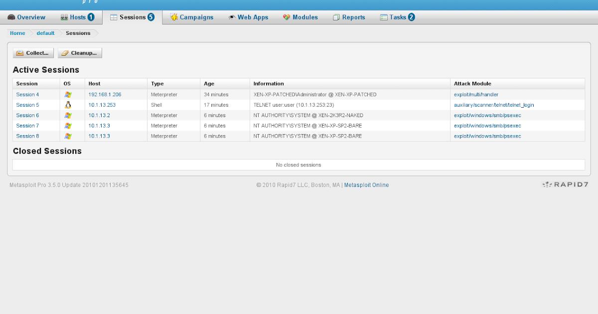 Apps For Download: DOWNLOAD Rapid7 Metasploit PRO v4 9 3