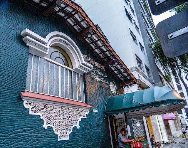 São Paulo, restaurante Jardim de Napoli
