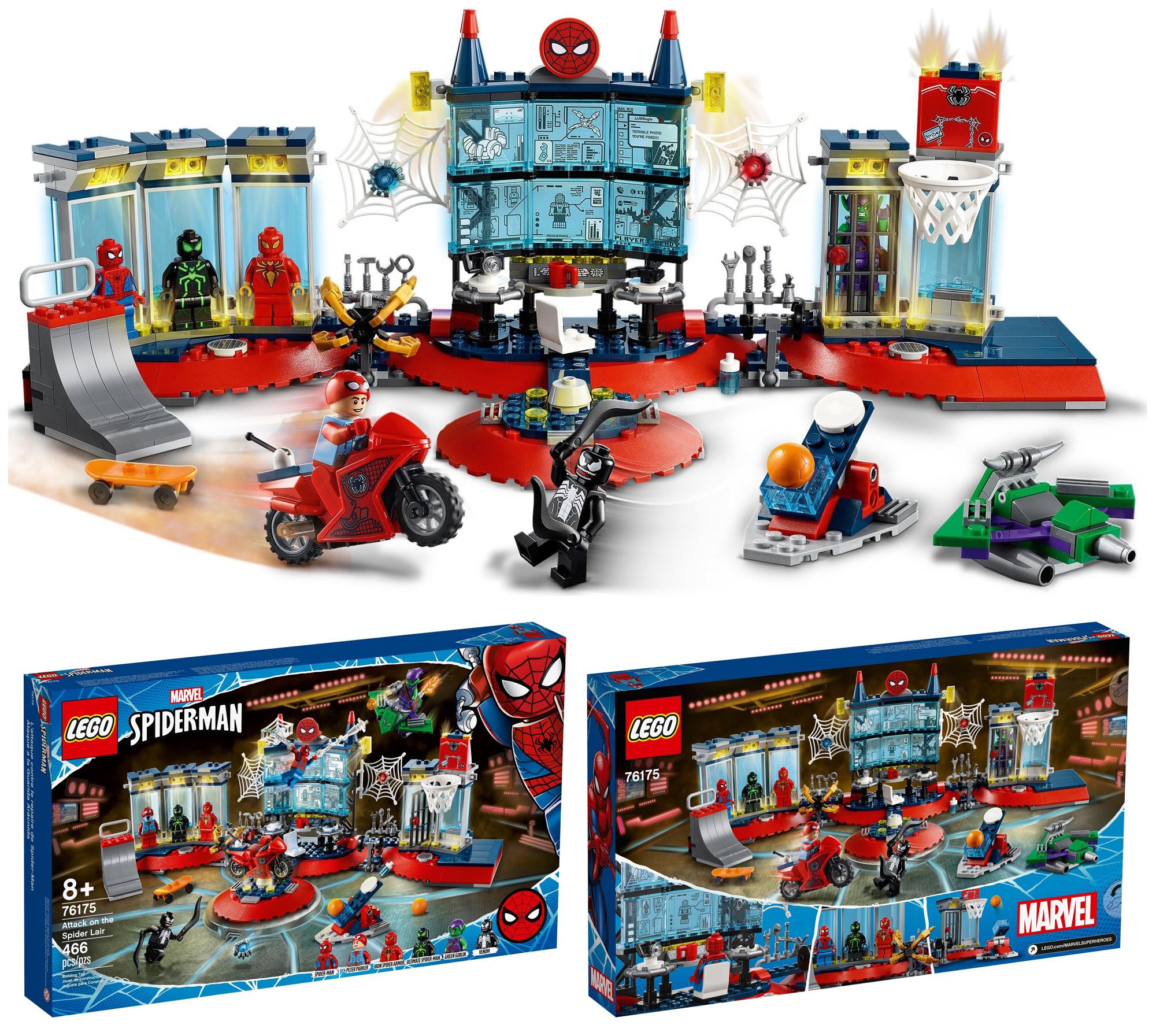 2021年3月発売レゴ・マーベル・スーパー・ヒーローズ新製品情報!サノスとスパイダーマン