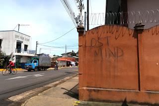 Lost Mind graffiti in Puriscal
