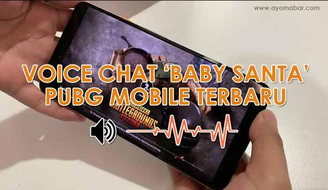 Cara Membuat Suara Voice Quick Chat Bahasa Korea 'Baby Santa' di PUBG Mobile