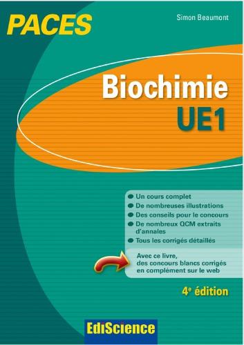 [PDF] Télécharger Livre Gratuit: Biochimie-UE1 1re année santé
