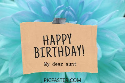 Happy Birthday Dear Aunt Images And Quotes 2020