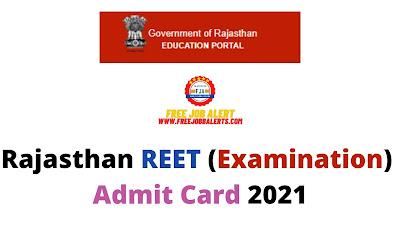 Sarkari Exam: Rajasthan REET (Examination) Admit Card 2021