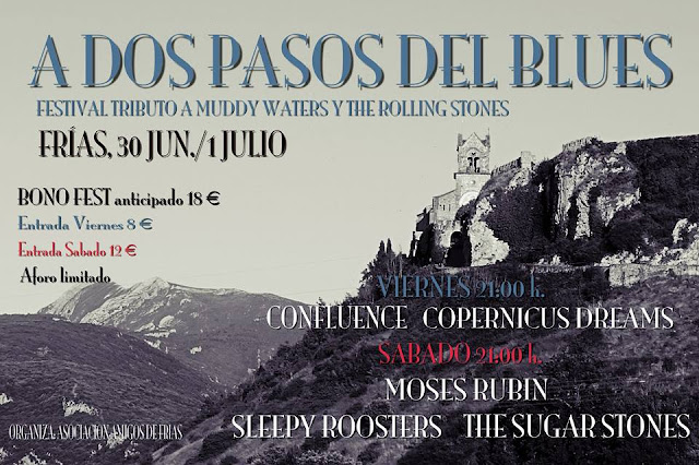 Festival tributo a Muddy Waters y The Rolling Stones en Frías - A dos pasos del blues 2