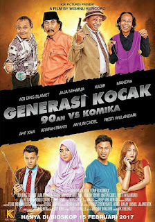 Download Film Generasi Kocak: 90'an vs Komika (2017) DVDRip