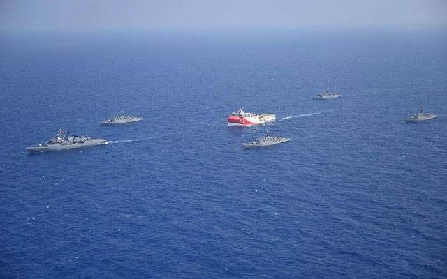 Το Ορούτς Ρέις θα συνεχίσει τις έρευνες στην Ανατ. Μεσόγειο