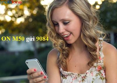 đăng ký gói M50 Mobifone