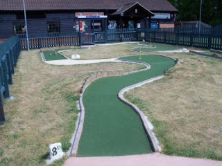 Crazy Golf at Suffolk Leisure Park in Ipswich