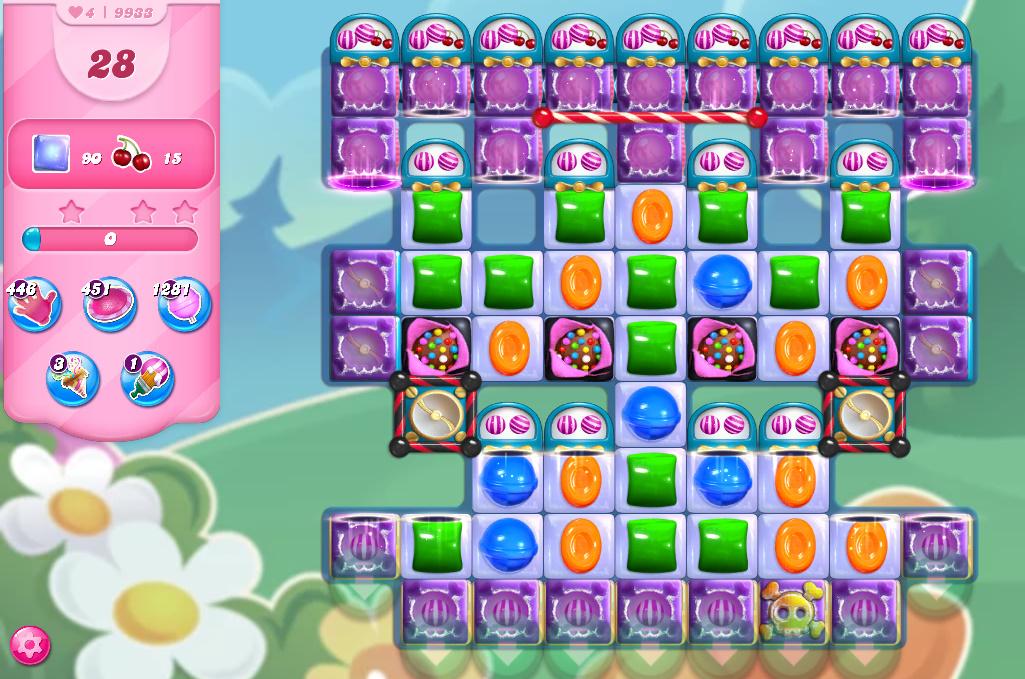 Candy Crush Saga level 9933