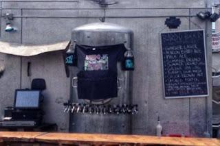 Bardo Brewing outdoor beer garden
